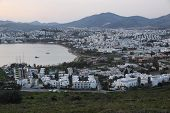 image of gumbet  - Gumbet District in Bodrum Town - JPG
