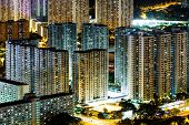 stock photo of public housing  - Public housing in Hong Kong - JPG