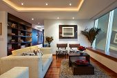 stock photo of sofa  - Interior design - JPG