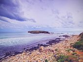 picture of tomas  - Coastline near Sant Tomas on Menorca Balearic Islands Spain - JPG
