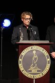 LOS ANGELES - FEB 15:  Johnny Depp  at the at the Annual Make-Up Artists And Hair Stylists Guild Awa