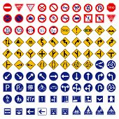 foto of traffic signal  - One Hundred different highly detailed and fully editable vector Traffic - JPG