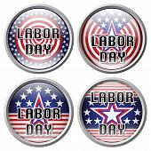 stock photo of labor  - Pin Labor day - JPG