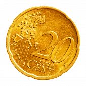Twenty Euro Cents Coin