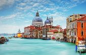 foto of salute  - Venice - Grand Canal and Basilica Santa Maria della Salute