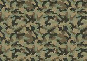 stock photo of camo  - Camouflage pattern design - JPG