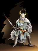 picture of breastplate  - Heavy armored Crusader - JPG
