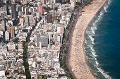 picture of ipanema  - Aerial View of Buildings in Front of the Ipanema Beach - JPG