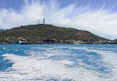 image of thursday  - view from the boat on leaving Thursday Island going to Horne Island - JPG