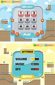 picture of asset  - game asset platform theme vector art illustration - JPG