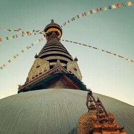 stock photo of eastern hemisphere  - Stupa  - JPG