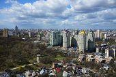 image of kiev  - Kiev cityscape in spring - JPG