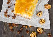 picture of phyllo dough  - Apfelstrudel  - JPG