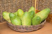 stock photo of custard  - Annona muricata  - JPG