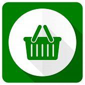 pic of cart  - cart flat icon shopping cart symbol  - JPG