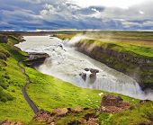 stock photo of enormous  - Water abyss - JPG