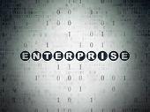 pic of enterprise  - Business concept - JPG