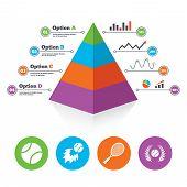 image of fireball  - Pyramid chart template - JPG