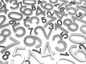 foto of zero  - Background of numbers - JPG