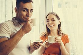 picture of hot couple  - Happiness and healthy relationship concept - JPG