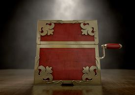 pic of jack-in-the-box  - An ornate antique closed jack - JPG