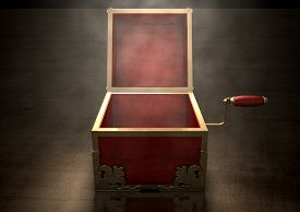foto of jack-in-the-box  - An ornate antique open jack - JPG
