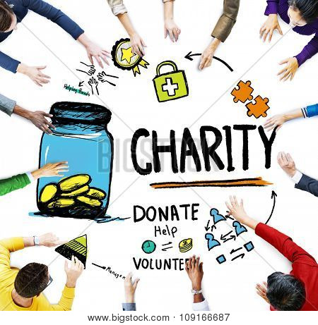 a discussion on giving to charity Discuss both these views and give your own opinion in this donating money to  charity essay, the writer presents the first argument in the first body paragraph,.