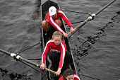 Boston - October 24: Mcgill University Competes In The Head Of The Charles Regatta  On October 24, 2