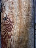 image of stockade  - knot and pattern in a stockade fence board - JPG
