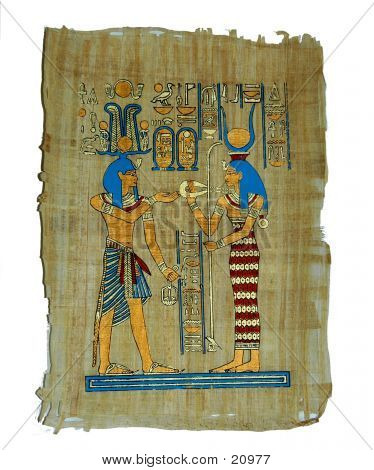 Papyrus Painting poster