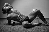 Sexy Muscular Man poster