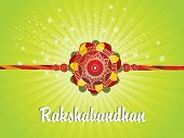 picture of rakshabandhan  - abstract rakshabandhan background - JPG