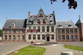 Medieval Building In Middelburg poster