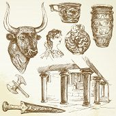 picture of minos  - ancient crete  - JPG