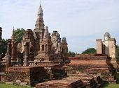 Historical Ruins Of Sukhothai City poster