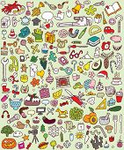 Big Doodled Icons Collection