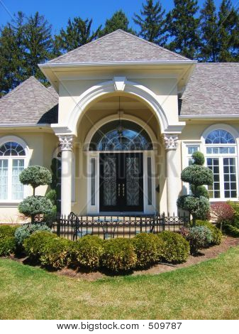 Picture Or Photo Of Decorative Front Door Home Entrance