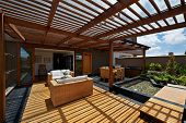 picture of pergola  - Interior design - JPG