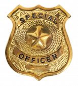 foto of officer  - Special officer badge - JPG