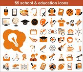 55 Education Icons