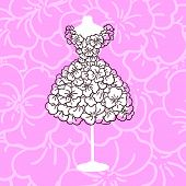 image of dress mannequin  - Dress mannequin - JPG