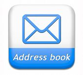 address book icon contact us here for feedback icon or sign. Coordinates for customer support and ex