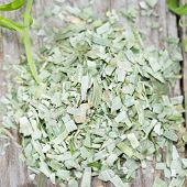 Portion Of Dried Tarragon