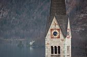 Church of Hallstatt, Salzburger Land, Austria