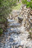 picture of jabal  - Image of hiking path Saiq Plateau in Oman - JPG