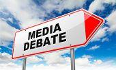 pic of debate  - Media Debate  - JPG