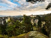 picture of bohemian  - Sandstone formations in Bohemian Paradise - JPG