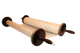 stock photo of torah  - Torah the first and main body of the Tanach the Hebrew Bible - JPG