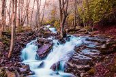 image of backwoods  - A hidden creek in the backwoods of Northeast Pennsylvania - JPG