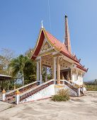 stock photo of crematory  - This incinerator is in Thailand is a Buddhist tradition that people are linked - JPG